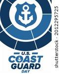 u.s. coast guard day in united...   Shutterstock .eps vector #2012295725