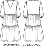 Voluminous Maxi Fashion Dress ...