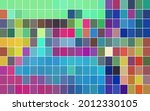 abstract mosaic with color... | Shutterstock .eps vector #2012330105