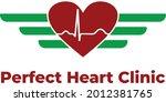 perfect heart clinic  describes ... | Shutterstock .eps vector #2012381765