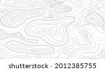 topographic map abstract... | Shutterstock .eps vector #2012385755