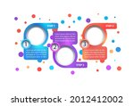 multicolor business vector...   Shutterstock .eps vector #2012412002