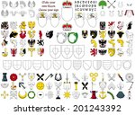 choose your own sign | Shutterstock .eps vector #201243392