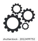 maintenance gears symbol vector ...   Shutterstock .eps vector #2012499752
