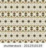 ikat geometric folklore... | Shutterstock .eps vector #2012510135