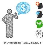 mesh businessman idea web icon... | Shutterstock .eps vector #2012582075