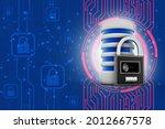 3d rendering database storage... | Shutterstock . vector #2012667578