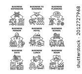 business school set icons... | Shutterstock .eps vector #2012727968