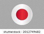 japan flag in circle  shape ...   Shutterstock .eps vector #2012749682