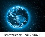 planet earth. best concept of... | Shutterstock . vector #201278078