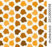 freehand spots seamless pattern.... | Shutterstock .eps vector #2012800058