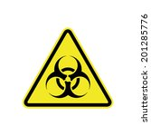 biohazard sign | Shutterstock .eps vector #201285776