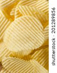 Small photo of Unhealthy Crinkle Cut Potato Chips Ready to Eat