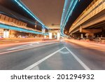 light traces on traffic... | Shutterstock . vector #201294932