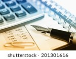 business accounting  | Shutterstock . vector #201301616