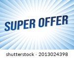 super offer word concept vector ...