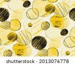 shabby grunge yellow and black...   Shutterstock .eps vector #2013076778