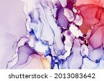 abstract hand painted alcohol... | Shutterstock . vector #2013083642