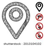 mesh map pointer web icon...   Shutterstock .eps vector #2013104102