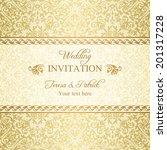 Baroque Wedding Invitation ...