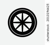 automobile rubber tire shop ... | Shutterstock .eps vector #2013196625