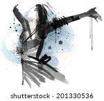 fashion presentation   Shutterstock .eps vector #201330536