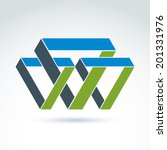 abstract symbol  vector graphic ... | Shutterstock .eps vector #201331976