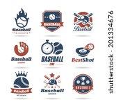 Baseball Icon Set   2