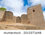 Small photo of Old castle of Constantina, Seville, Andalusia, Spain