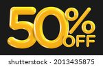 50 percent off. discount... | Shutterstock .eps vector #2013435875