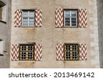 Four Windows Of A Medieval...