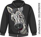 Front Of Bomber Jacket With...