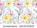 Background Flower Seamless...