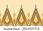 geometric ethnic pattern design ... | Shutterstock .eps vector #2013537725