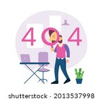 404 error page not found system ...   Shutterstock .eps vector #2013537998