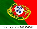 flag of portugal. | Shutterstock . vector #201354806
