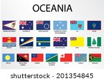 alphabetical country flags for...   Shutterstock .eps vector #201354845