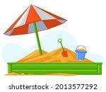 cartoon children summer outdoor ...   Shutterstock .eps vector #2013577292