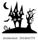illustration of silhouette a... | Shutterstock .eps vector #2013631775