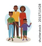 black father and mother with... | Shutterstock .eps vector #2013711428