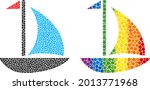 sail boat composition icon of...   Shutterstock .eps vector #2013771968