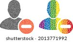 remove user mosaic icon of...   Shutterstock .eps vector #2013771992