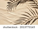 Sand Texture. Sandy Beach With...