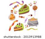 candy  costumes  magical and... | Shutterstock .eps vector #2013913988