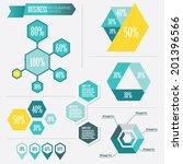 business infographic vector... | Shutterstock .eps vector #201396566