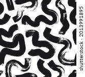 hand drawn wavy and swirled...   Shutterstock .eps vector #2013991895