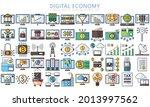 digital economy lineal multi...