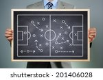 business strategy businessman... | Shutterstock . vector #201406028