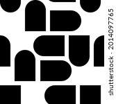 boho seamless pattern in a... | Shutterstock .eps vector #2014097765