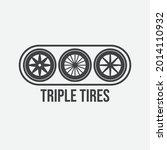 automobile rubber tire shop ... | Shutterstock .eps vector #2014110932